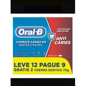 Creme Dental Oral B : 12u Super Promoção