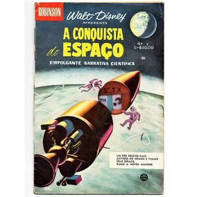 Hq Walt Disney Robinson - Conquista Do Espaço - Nº 1 Rge