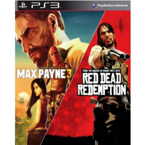 Max Payne Complete Edition 3 E Red Dead Redemption Ps3