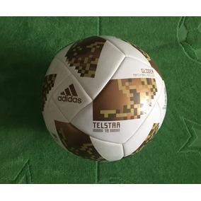 Balón Telstar Edición Especial Final Mundial Rusia 2018 Gold 51f91b9ffb681