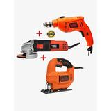 Amoladora 820w+taladro 550w+caladora 420w B& D Combo Cmarvin