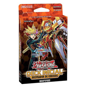 Deck Inicial Yu Gi Oh! Decifrador De Códigos Konami