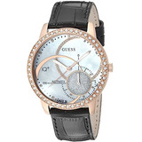 Espectacular¡ Guess G66390g Reloj De Cuero Para Hombre en Mercado ... 8eee79de41dd