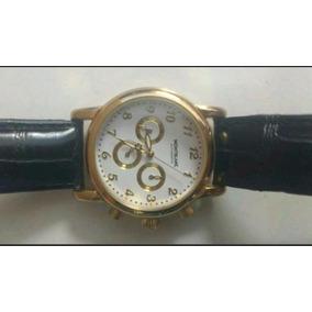 Relógio De Luxo Modelo Montblanc Em Ouro 18k Automático