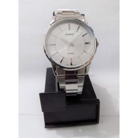 Reloj Casio Caballero Mtp1303 Cara Blanca, Envio Gratis