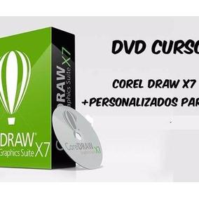 Curso Corel Draw X7 Video Aulas + Curso De Personalizados Pa