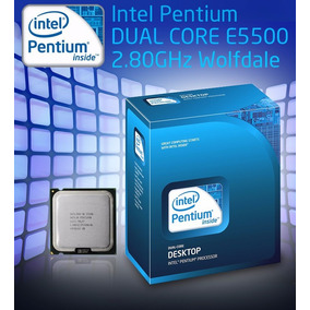 Processador Intel Pentium Dual Core E5500 + Cooler Original