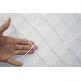 Kit De Rede De Proteção Para Janelas 1,20 X 1,20 Cor Branca