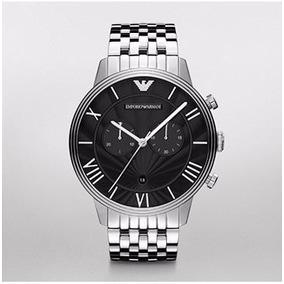 Relogio Emporio Armani Ar1617 Prata Masculino - Relógios De Pulso no ... 053b7fd261