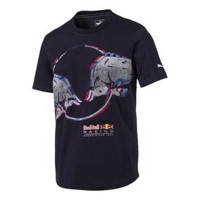 Playera Puma Red Bull Racing Double Bull 575271-01 Marino