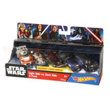 Hot Wheels Star Wars 5x Pack Luke Anakin Palpatine Kylo Obi