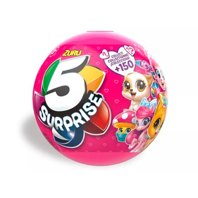 5 Surprise Pelota Con 5 Juguetes Sorpresas Para Nenas