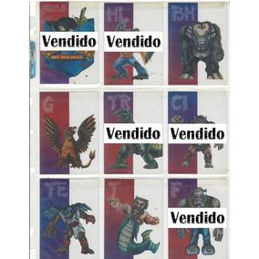 Tarjetas Acetatos Monstruos De Bolsillo Sonric