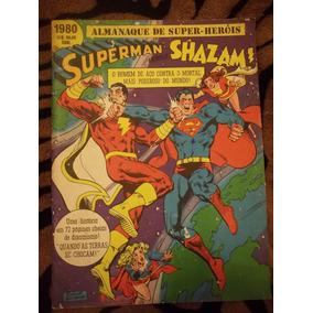 Superman X Shazam Ebal Original Raríssima Frete Gratis