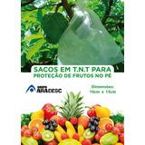 100 Sacos Tnt Proteção Frutas No Pe 10x15cm Fruta Protegida
