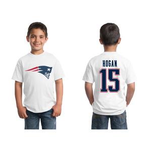 10974da085c9b Camiseta Infantil New England Patriots Infantil Manga Curta ...
