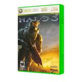 Halo 3 Estandar Edition Xbox 360 Refurbished Envio Gratis