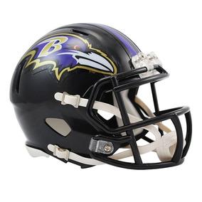 Capacete Riddell Baltimore Ravens Miniatura Revolution Speed