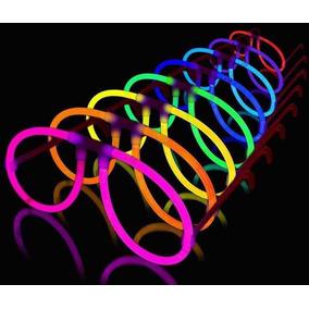 10 Lentes De Cyalume Neon Glow Rave Fiesta Animación Boda