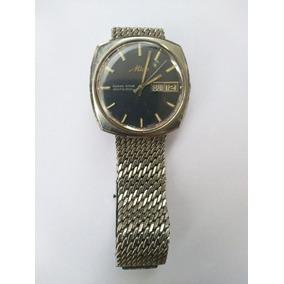 80ad103a06b Relogio Mido Ocean Star Dataday Dourado - Relógios no Mercado Livre ...