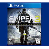 Sniper Ghost Warrior 3 Ps4 Season Pass Edition Disponible