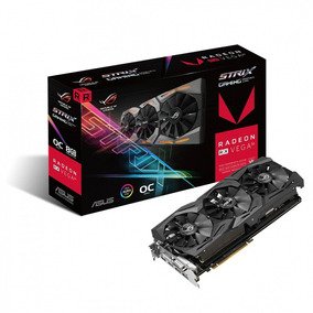 Placa De Video 8gb Rx Vega 56 Asus 08g Strix Gaming- Comeros