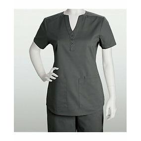 Uniforme Médico. Blusa Botones. 3 Bolsas.