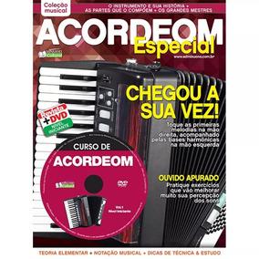 Revista-método Para Acordeon Coleção Especial Acordeon Nº01
