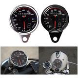 Painel Retro Cromado Customizar Moto Bobber Custom Chopper