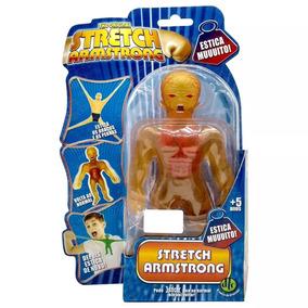 Boneco Estica Stretch Armstrong Raio-x - Dtc