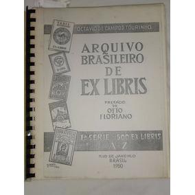 Arquivo Brasileiro De Ex-libris Cópia Para Colagem De Ex-lib