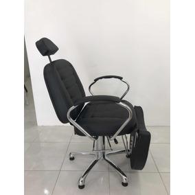 Poltrona Cadeira Reclinável Hidráulica Maquiagem Pigmentação