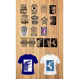Vectores Para Camisa Sublimacion -vinil - Serigrafia Digital