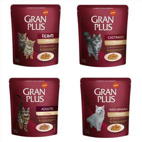 Gran Plus Sachê Para Gatos 15 Unidades