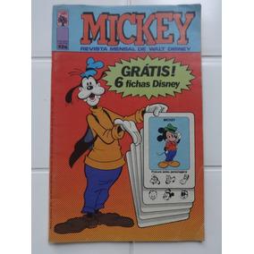 Mickey Nº 326 - Completo Com As 6 Fichas Disney - 1979