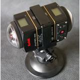 Camara 360 Kodak 4k Y Accesorios