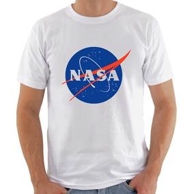 Camisa Camiseta Nasa Masculina Ou Baby Look