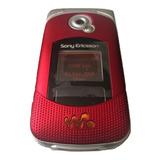 Sony Ericson W300 Vinotinto 10 De 10 Accesorios Originales