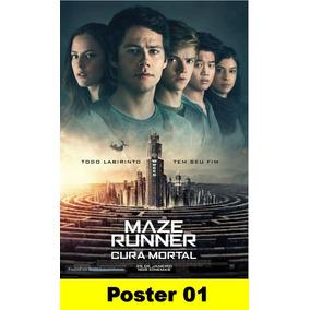 Poster Cartaz Maze Runner A Cura Mortal (impresso 30x40 #001