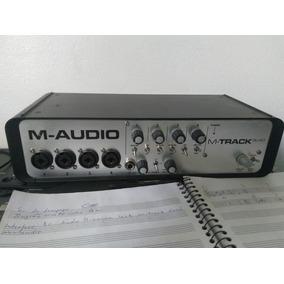 Interface De Áudio 4 Canais Usb M-track Quad M-audio