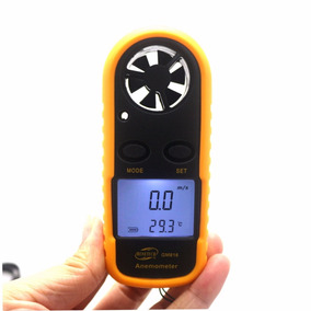 Gm816 Portátil Mini Digital Anemômetro , Ar Gauge Termôme