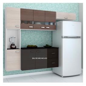 Cozinha Compacta Julia 3 Peças Poquema