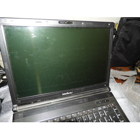 Note Intelbras I550 Intel Core 2 Duo T6400 2.0 Ghz Defeito