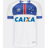 6d680da5c8 Camisa Do Cruzeiro Branca 2018 Libertad Umbro Patch 2018