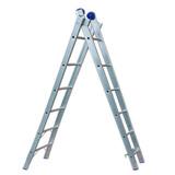 Escada De Aluminio Extensiva Dupla 06 Degraus - Alume