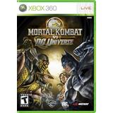 Mortal Kombat Vs Dc Univ X360