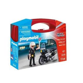 Maletin Estacion De Policia Playmobil R3918