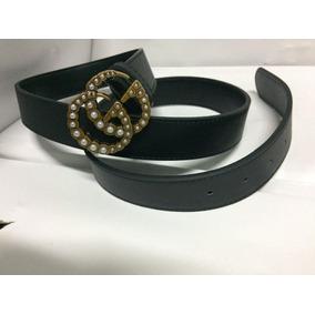 Cinturon Gucci Clon Mujer - Accesorios de Moda Gris claro en Mercado ... 2dfb30fe1c6