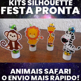 94e1527bd834b Kit Festa Animal Zoo - Artesanato no Mercado Livre Brasil