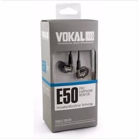 Fone De Ouvido Vokal E50 Pro In Ear Para Retorno